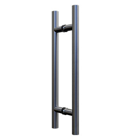 NOR-HANDLE-DBL-S Double Pull Handle 450mm - Satin