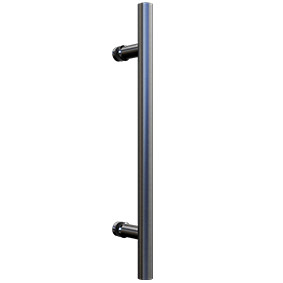 NOR-HANDLE-SGL-S Single Pull Handle 450mm - Satin