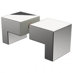 P-KSL Square L shape knob
