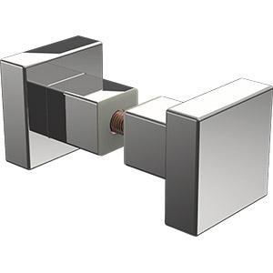P-KSR Square recessed knob