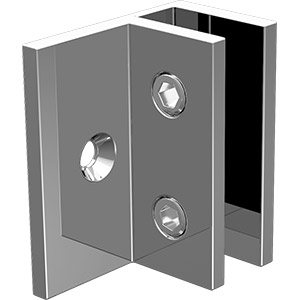 P-WB-O Square Edge Wall Bracket Offset