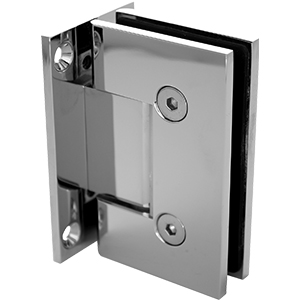 PB-HS-WP Glass to Wall hinge with square edges