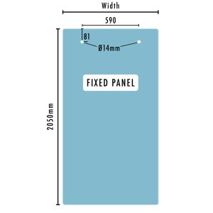 STAL Glass fixed panel