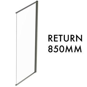 TLX-RTN-0850 Semi-frameless Return Panel - 1950mm x 850mm