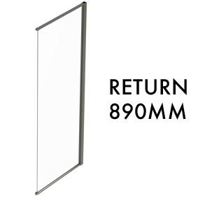 TLX-RTN-0890 Semi-frameless Return Panel - 1950mm x 890mm