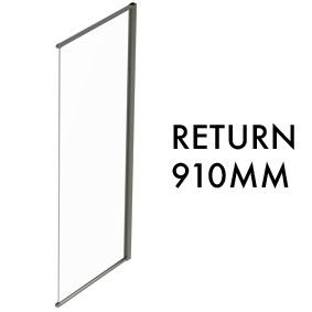 TLX-RTN-0910 Semi-frameless Return Panel - 1950mm x 910mm
