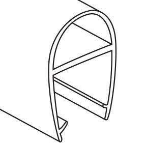 p-512-stal-d10-2130 STAL PVC Door Bump Stopper